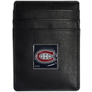 Siskiyou Buckle HCH30BX Montreal Canadiens? Leather Money Clip/Cardholder