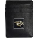 Siskiyou Buckle HCH40BX Nashville Predators? Leather Money Clip/Cardholder