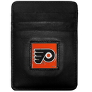 Siskiyou Buckle HCH65BX Philadelphia Flyers? Leather Money Clip/Cardholder