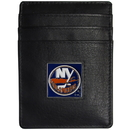 Siskiyou Buckle HCH70 New York Islanders Leather Money Clip/Cardholder Packaged in Gift Box