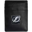 Siskiyou Buckle HCH80 Tampa Bay Lightning Leather Money Clip/Cardholder Packaged in Gift Box