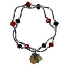 Siskiyou Buckle Chicago Blackhawks Crystal Bead Bracelet, HCYB10