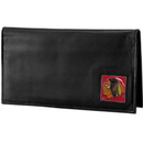 Siskiyou Buckle HDCK10BX Chicago Blackhawks? Deluxe Leather Checkbook Cover