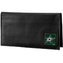 Siskiyou Buckle Dallas Stars Deluxe Leather Checkbook Cover, HDCK125BX