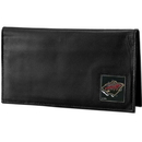Siskiyou Buckle HDCK145BX Minnesota Wild? Deluxe Leather Checkbook Cover