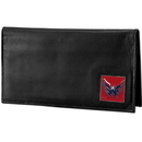 Siskiyou Buckle HDCK150BX Washington Capitals? Deluxe Leather Checkbook Cover