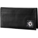 Siskiyou Buckle HDCK155BX Winnipeg Jets; Leather Dlx. Checkbook