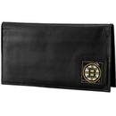 Siskiyou Buckle HDCK20BX Boston Bruins? Deluxe Leather Checkbook Cover