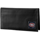 Siskiyou Buckle HDCK30BX Montreal Canadiens? Deluxe Leather Checkbook Cover