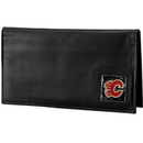 Siskiyou Buckle HDCK60BX Calgary Flames? Deluxe Leather Checkbook Cover