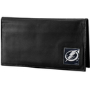 Siskiyou Buckle HDCK80BX Tampa Bay Lightning? Deluxe Leather Checkbook Cover