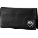 Siskiyou Buckle HDCK90BX Edmonton Oilers? Deluxe Leather Checkbook Cover