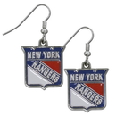 Siskiyou Buckle HDE105N New York Rangers? Chrome Dangle Earrings