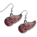Siskiyou Buckle HDE110N Detroit Red Wings? Chrome Dangle Earrings