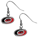 Siskiyou Buckle HDE135N Carolina Hurricanes Chrome Dangle Earrings