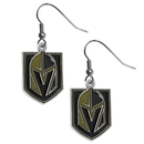 Siskiyou Buckle HDE165N Las Vegas Golden Knights Chrome Dangle Earrings