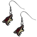 Siskiyou Buckle HDE45N Arizona Coyotes Chrome Dangle Earrings