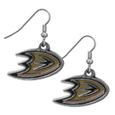Siskiyou Buckle HDE55N Anaheim Ducks? Chrome Dangle Earrings