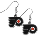 Siskiyou Buckle HDE65N Philadelphia Flyers? Chrome Dangle Earrings