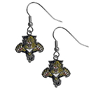Siskiyou Buckle HDE95N Florida Panthers Chrome Dangle Earrings