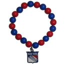 Siskiyou Buckle HFBB105 New York Rangers? Fan Bead Bracelet