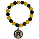 Siskiyou Buckle HFBB20 Boston Bruins? Fan Bead Bracelet