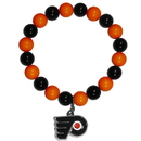 Siskiyou Buckle HFBB65 Philadelphia Flyers? Fan Bead Bracelet