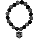 Siskiyou Buckle Los Angeles Kings Fan Bead Bracelet, HFBB75