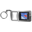 Siskiyou Buckle New York Rangers Flashlight Key Chain with Bottle Opener, HFBK105