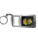 Siskiyou Buckle Chicago Blackhawks Flashlight Key Chain with Bottle Opener, HFBK10