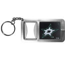 Siskiyou Buckle Dallas Stars Flashlight Key Chain with Bottle Opener, HFBK125