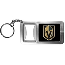 Siskiyou Buckle Las Vegas Golden Knights Flashlight Key Chain with Bottle Opener, HFBK165