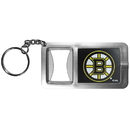 Siskiyou Buckle Boston Bruins Flashlight Key Chain with Bottle Opener, HFBK20