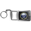Siskiyou Buckle Buffalo Sabres Flashlight Key Chain with Bottle Opener, HFBK25