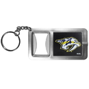 Siskiyou Buckle Nashville Predators Flashlight Key Chain with Bottle Opener, HFBK40