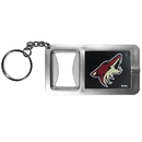 Siskiyou Buckle Arizona Coyotes Flashlight Key Chain with Bottle Opener, HFBK45
