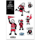 Siskiyou Buckle HFSD50 New Jersey Devils Family Decal Set Small