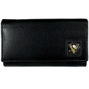 Siskiyou Buckle HFW100 Pittsburgh Penguins? Leather Women's Wallet