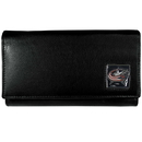 Siskiyou Buckle HFW130 Columbus Blue Jackets? Leather Women's Wallet