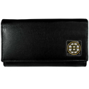 Siskiyou Buckle HFW20 Boston Bruins? Leather Women's Wallet