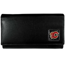 Siskiyou Buckle HFW60 Calgary Flames? Leather Women's Wallet