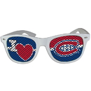 Siskiyou Buckle HHGD30W Montreal Canadiens I Heart Game Day Shades