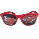 Siskiyou Buckle HHGD50 New Jersey Devils I Heart Game Day Shades