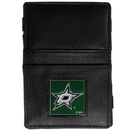 Siskiyou Buckle HJL125 Dallas Stars Leather Jacob's Ladder Wallet