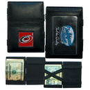 Siskiyou Buckle HJL135 Carolina Hurricanes Leather Jacob's Ladder Wallet