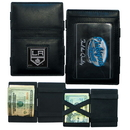 Siskiyou Buckle HJL75 Los Angeles Kings? Leather Jacob's Ladder Wallet