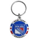 Siskiyou Buckle HK105 New York Rangers? Carved Metal Key Chain