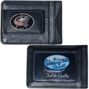 Siskiyou Buckle HLMC130 Columbus Blue Jackets? Leather Cash & Cardholder
