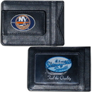 Siskiyou Buckle HLMC70 New York Islanders? Leather Cash & Cardholder