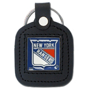 Siskiyou Buckle HLS105 New York Rangers? Square Leather Key Chain